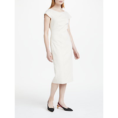 Finery Carolina Structured Dress, Cream