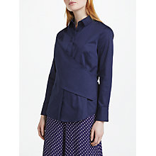 Buy Finery Cotman Shirt, Navy Online at johnlewis.com