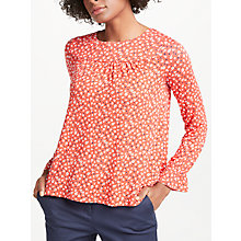 Buy Boden Flare Cuff Jersey Top Online at johnlewis.com