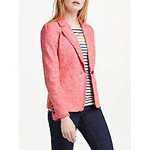 Buy Boden Mina Blazer, Rosehip Online at johnlewis.com