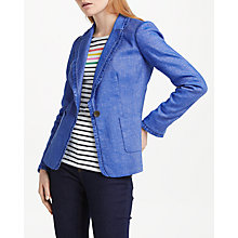 Buy Boden Mina Blazer, Chambray Online at johnlewis.com