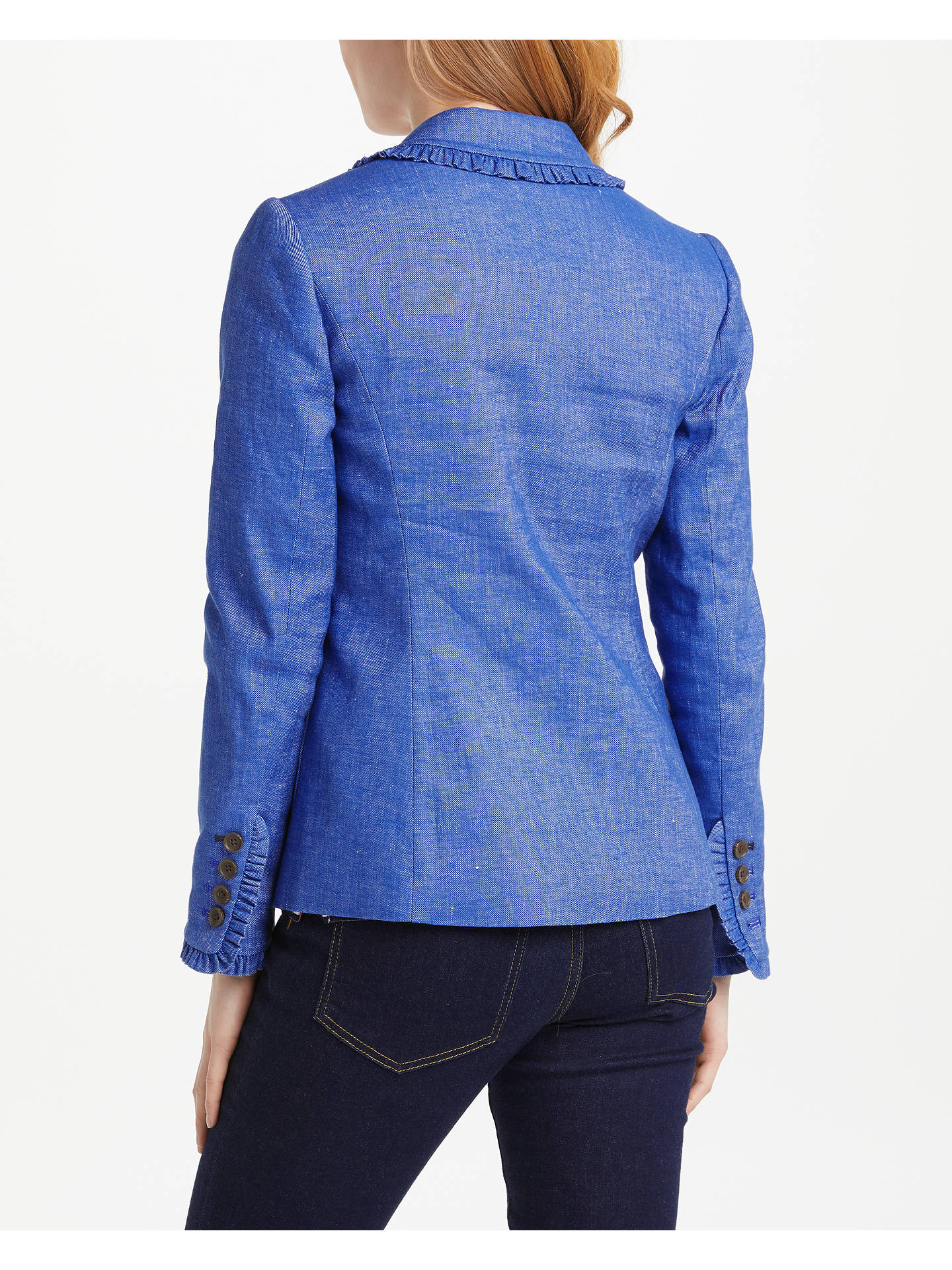 Buy Boden Mina Blazer, Chambray, 8 Online at johnlewis.com