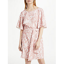Buy Finery Colchester Waist Tie Dress, Multi Online at johnlewis.com