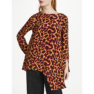 Finery Carlos Cheetah Print Top, Multi