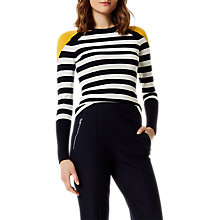 Buy Karen Millen Bold Stripe Jumper, Multi Online at johnlewis.com