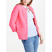 Buy Boden Tori Cardigan, Bright Watermelon Online at johnlewis.com