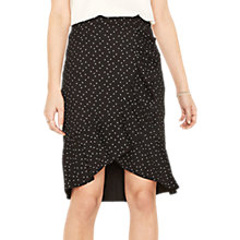 Buy Oasis Polka Frill Wrap Skirt, Multi Online at johnlewis.com