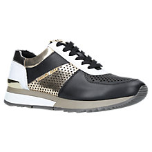 Buy MICHAEL Michael Kors Allie Leather Trainers Online at johnlewis.com