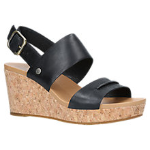 Buy UGG Elena II Wedge Heel Sandals Online at johnlewis.com