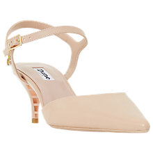 Buy Dune Christyne Two Part Sandals, Nude Online at johnlewis.com
