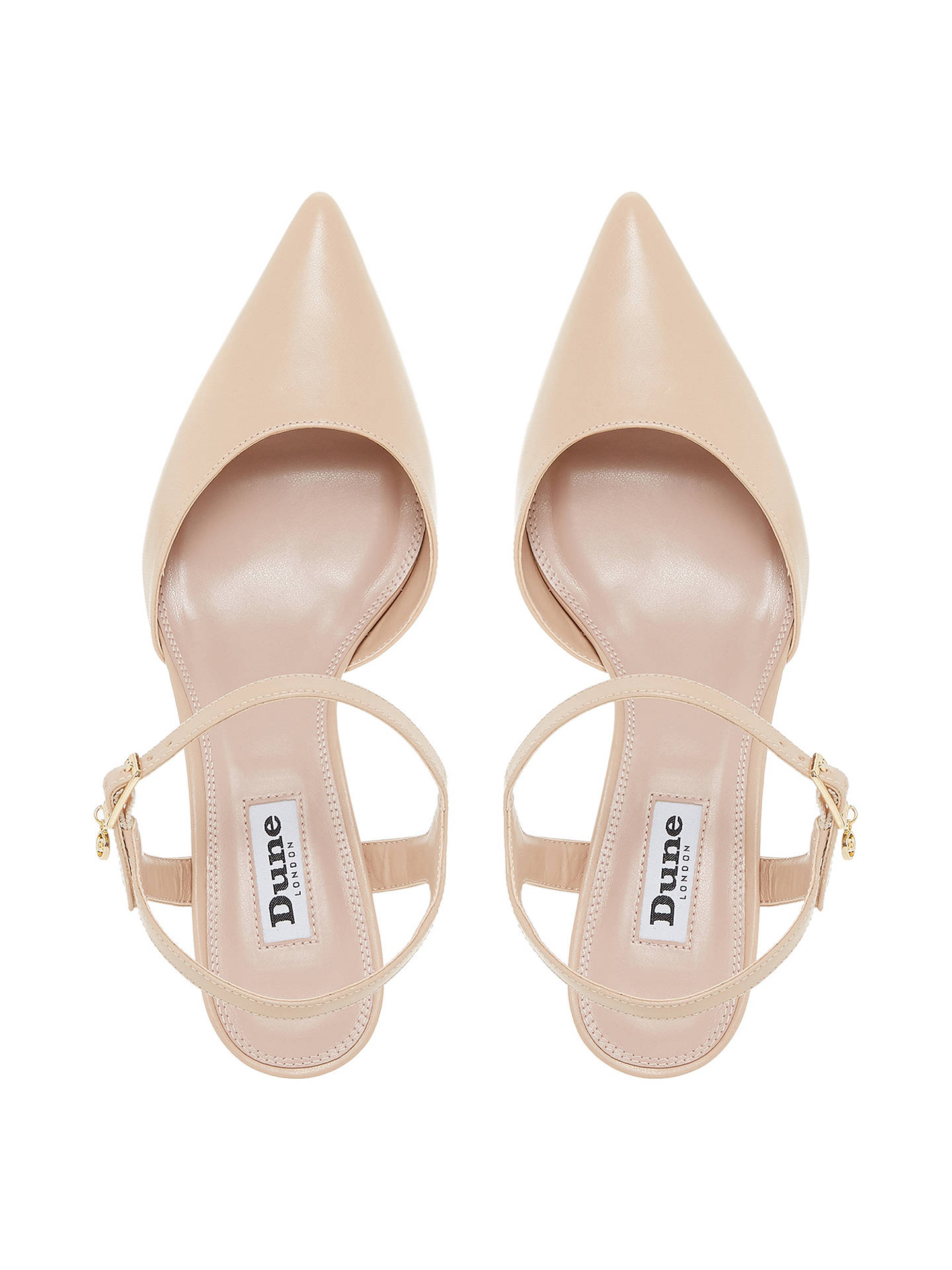 BuyDune Christyne Two Part Sandals, Nude, 3 Online at johnlewis.com