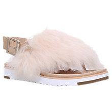 Buy UGG Holly Sheepskin Sandals Online at johnlewis.com