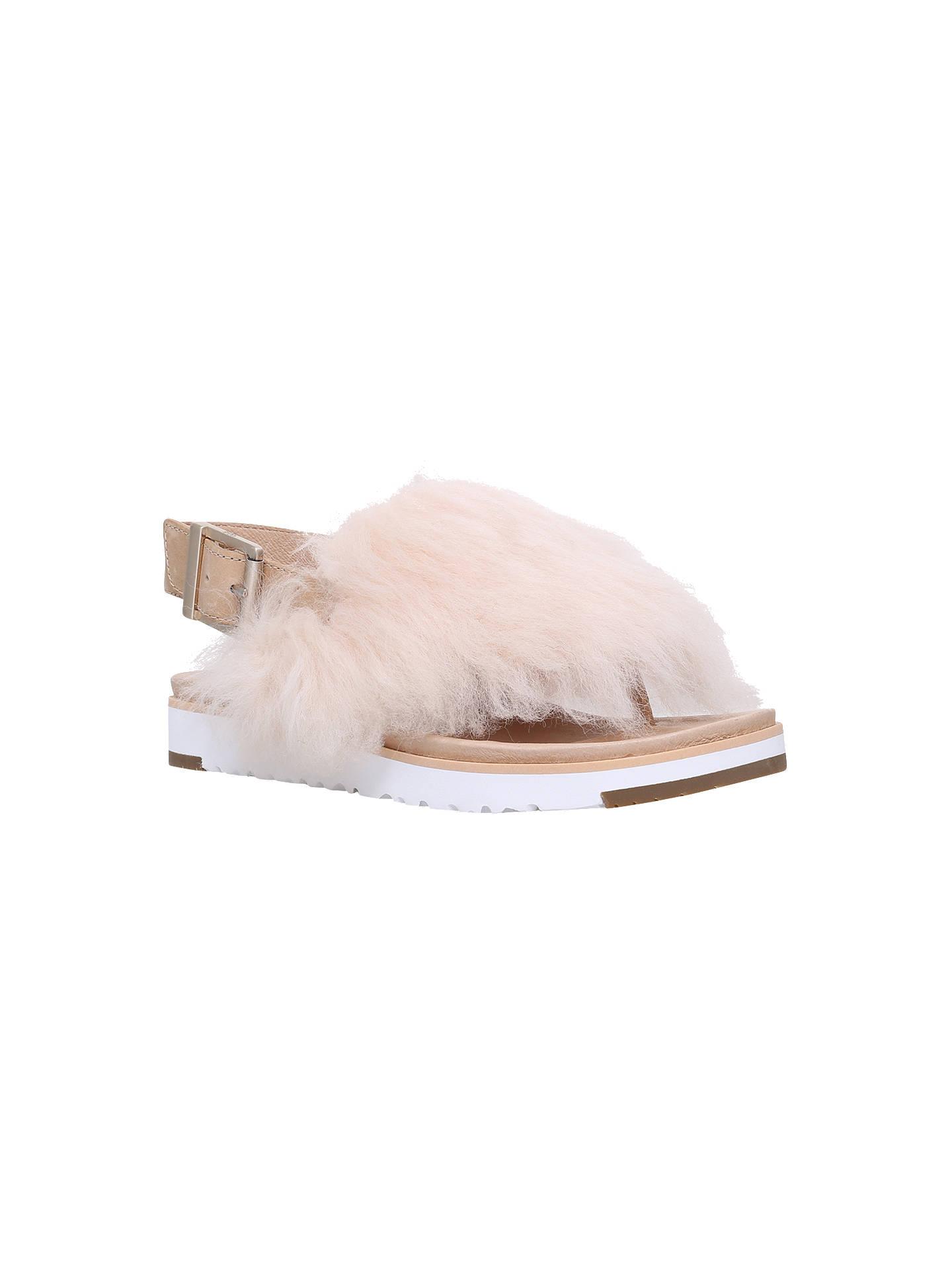 b7c4f779c67b UGG Holly Sheepskin Sandals at John Lewis   Partners