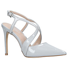Buy Carvela Krave Stiletto Heel Court Shoes, Grey Online at johnlewis.com