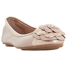 Buy Dune Hyacinthia Flower Ballet Pumps Online at johnlewis.com