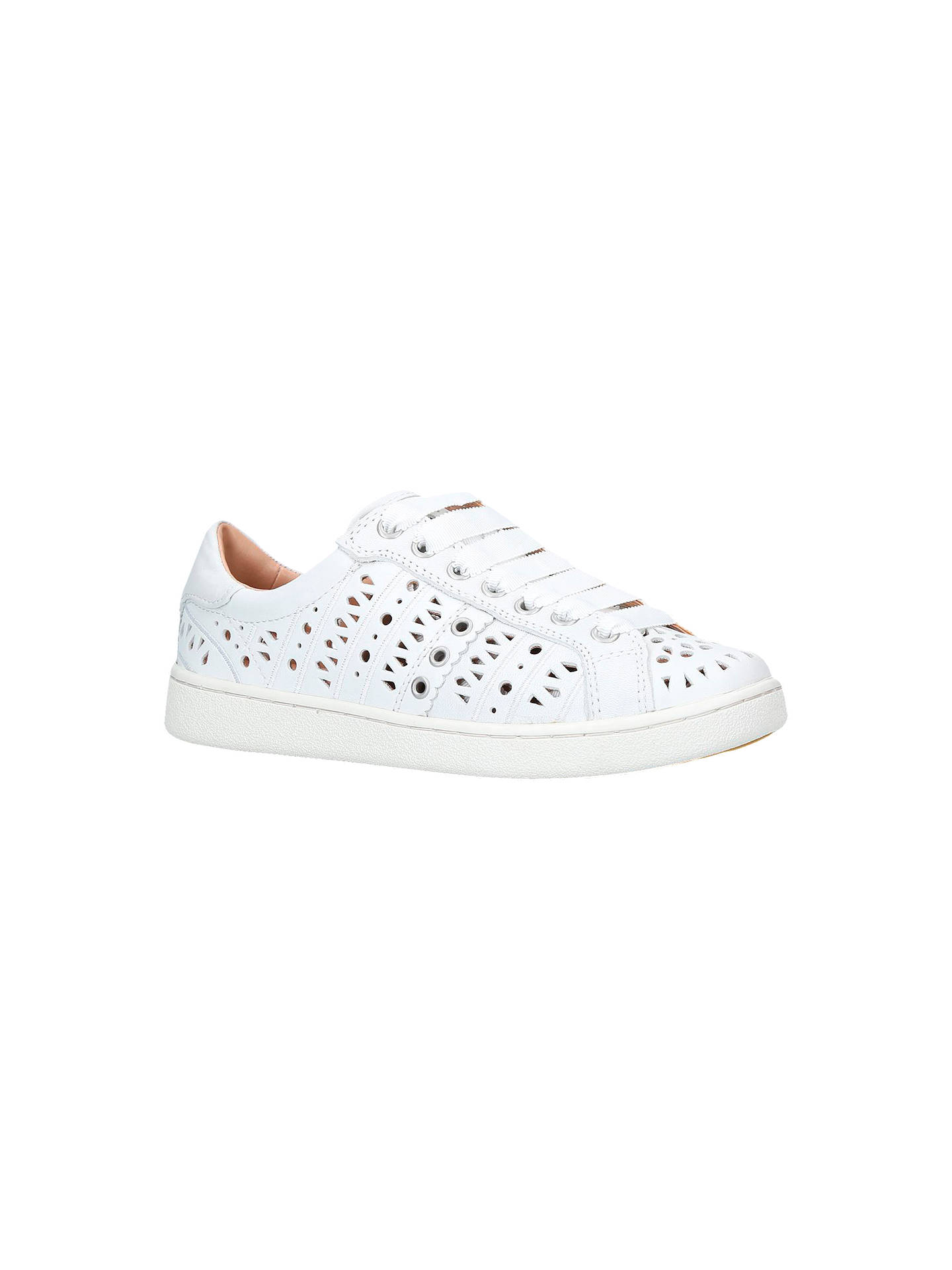 d00e2bf252f UGG Milo Perforated Lace Up Trainers at John Lewis & Partners