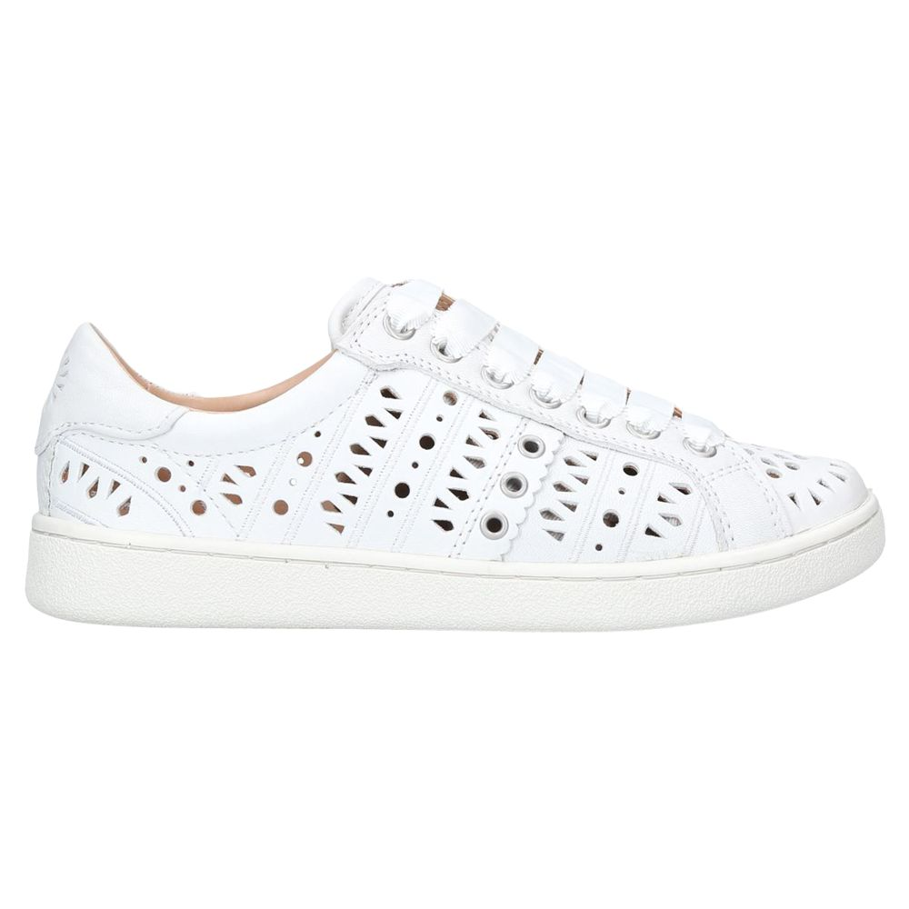 ugg milo perforated lace up trainers at john lewis partners 1970 Shoes Called ugg milo perforated lace up trainers white leather is no longer available online