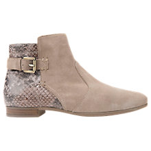 Buy Geox Marylina Ankle Boots, Sand Online at johnlewis.com