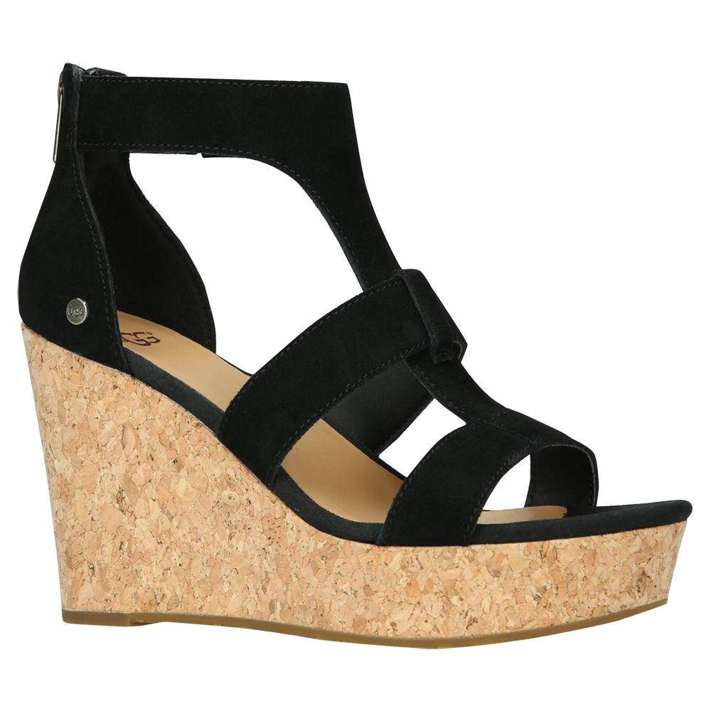 7a98ca654a2 UGG Whitney Wedge Heel Sandals at John Lewis & Partners