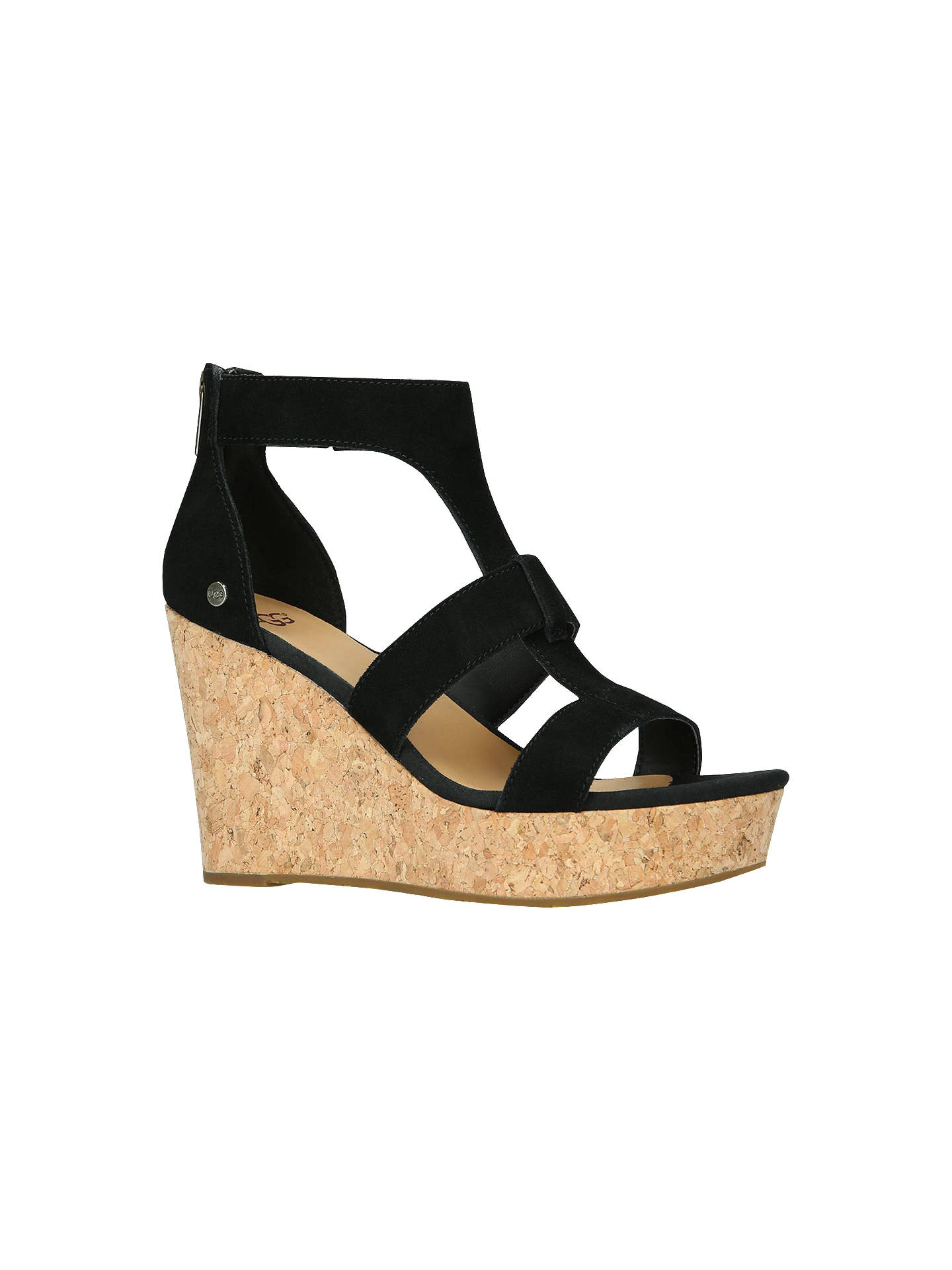 a183a236f2a9 UGG Whitney Wedge Heel Sandals at John Lewis   Partners