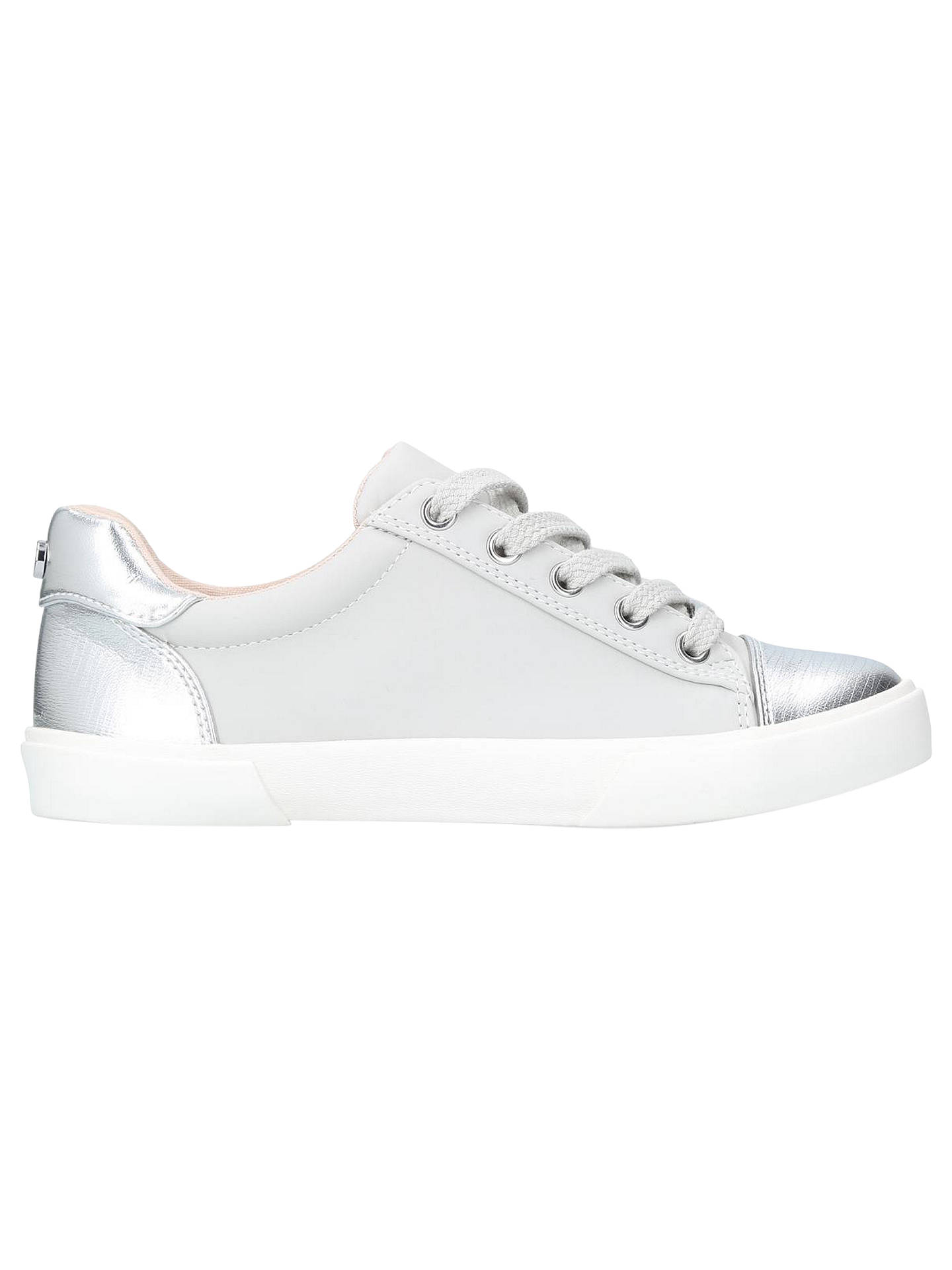 BuyCarvela Light Lace Up Trainers, Grey, 3 Online at johnlewis.com