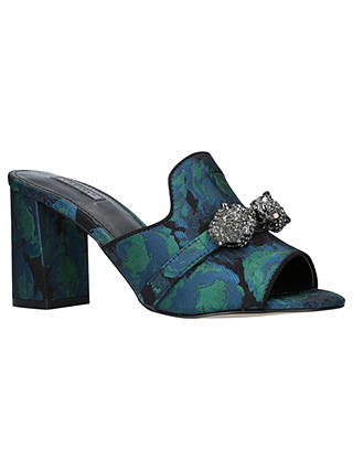 Buy Carvela Growl Block Heel Sandals, Multi/Other, 3 Online at johnlewis.com