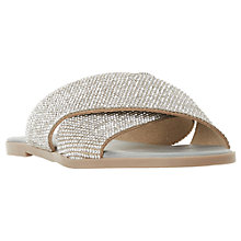 Buy Dune Nevadaa Embellished Sandals Online at johnlewis.com