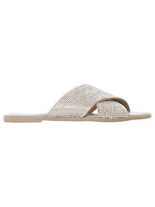 caaa78d2a73d Dune Nevadaa Embellished Sandals