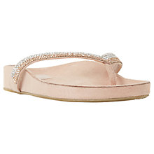 Buy Dune Noticed Embellished Toe Post Sandals Online at johnlewis.com