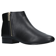 Buy Carvela Shift Ankle Boots, Black Online at johnlewis.com