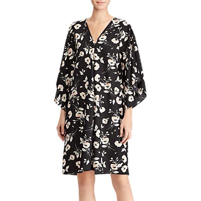 Lauren Ralph Lauren Braedyn Shift Dress, Black/Peach