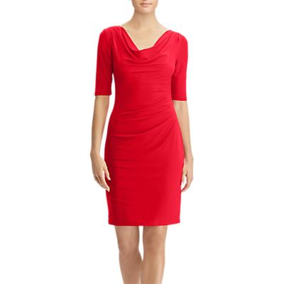 Lauren Ralph Lauren Carleton Day Dress, Signature Red