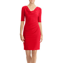 Buy Ralph Lauren Carleton Day Dress, Signature Red Online at johnlewis.com