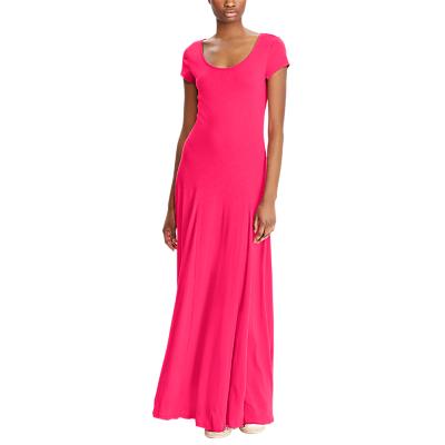 Lauren Ralph Lauren Fadrina Maxi Dress, Pink Poppy