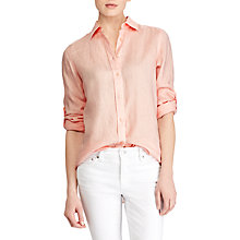 Buy Lauren Ralph Lauren Karrie Shirt, English Rose Online at johnlewis.com