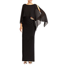 Buy Lauren Ralph Lauren Mercina Dress, Black Online at johnlewis.com