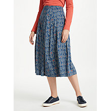 Buy Seasalt Sea Mist Skirt, Flower Head Night Online at johnlewis.com