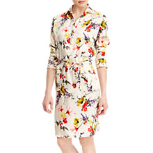Buy Lauren Ralph Lauren Quinton Long Sleeved Dress, Multi Online at johnlewis.com