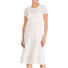 Buy Lauren Ralph Lauren Pachika A-Line Sweater Dress, White Online at johnlewis.com