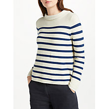 Buy Seasalt Between Tides Jumper, Ahoy Sailor Online at johnlewis.com