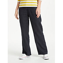 Buy Seasalt Carhales Trousers, Dark Night Online at johnlewis.com