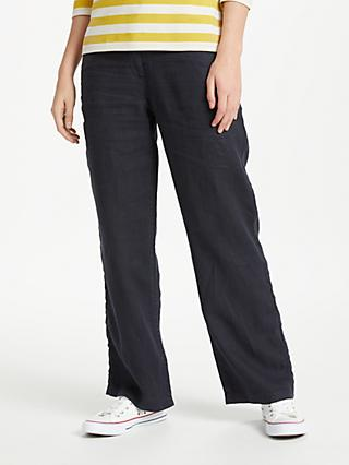 Seasalt Carhales Trousers, Dark Night