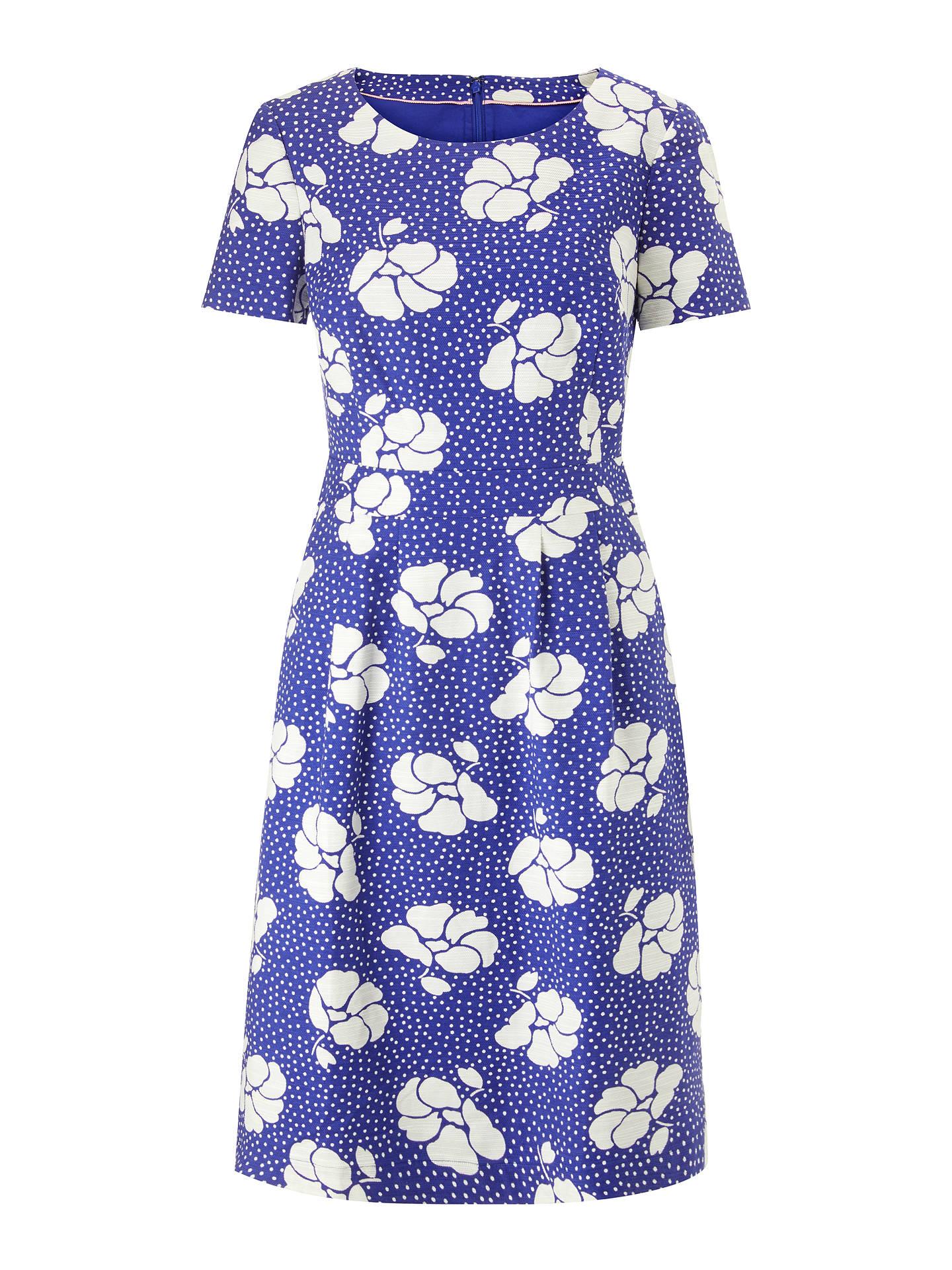 Boden Sierra Textured Dress At John Lewis Partners
