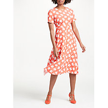 Buy Boden Ruth Midi Dress, Rosehip Primrose Online at johnlewis.com