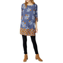 Buy White Stuff Bianca Tunic Dress, Blue Online at johnlewis.com