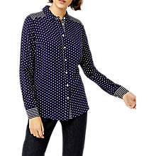Buy Warehouse Stripe and Spot Shirt, Multi Online at johnlewis.com