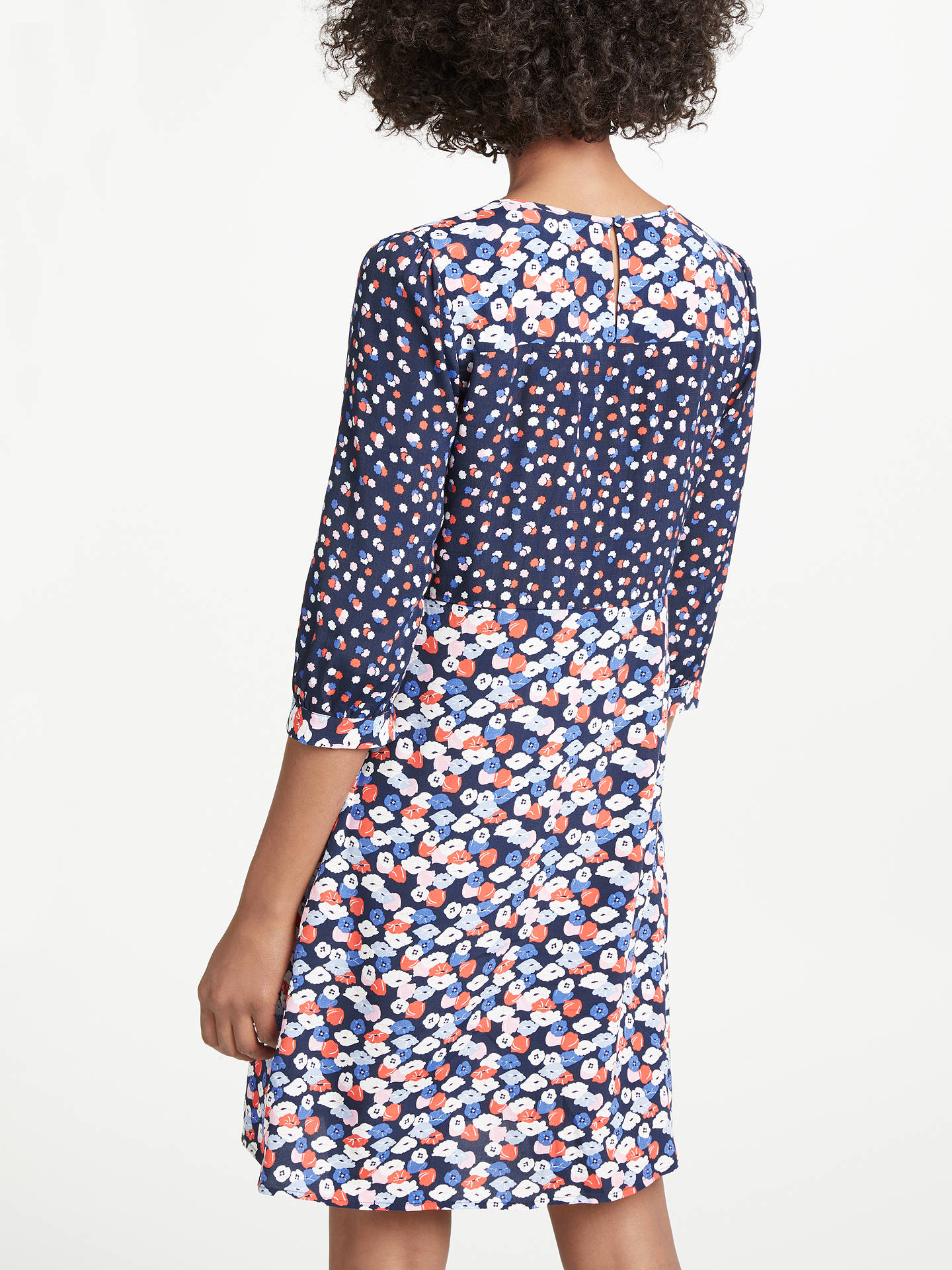 79a53a4bd6cc ... Buy Boden Hotchpotch Poppy Meadow Pintuck Dress, Navy/Multi, 8 Online  at johnlewis ...