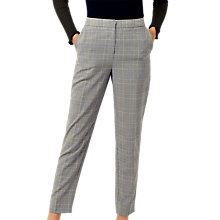 Buy Warehouse Heritage Check Trousers, Multi Online at johnlewis.com