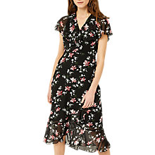 Buy Warehouse Constantine Ruffle Dress, Multi Online at johnlewis.com