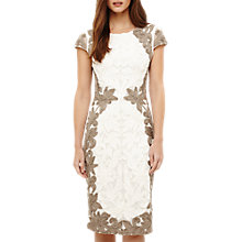 Buy Phase Eight Cornelia Tapework Dress, Praline Online at johnlewis.com